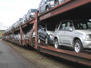 Auto Transport by Rail
